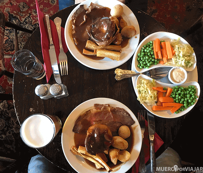 Sunday Roast en Los Cotswolds - Inglaterra