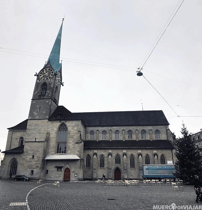 Iglesia Fraumünster