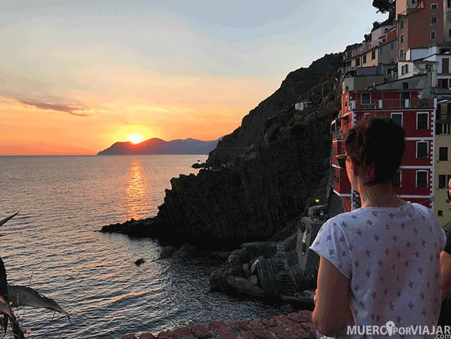 Atardecer en Riomaggiore - Cinque Terre