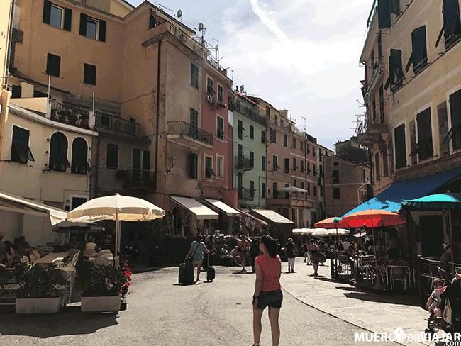 Las calles de Vernazza en CInque Terre