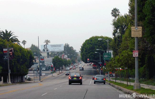 Las calles de Los Ángeles