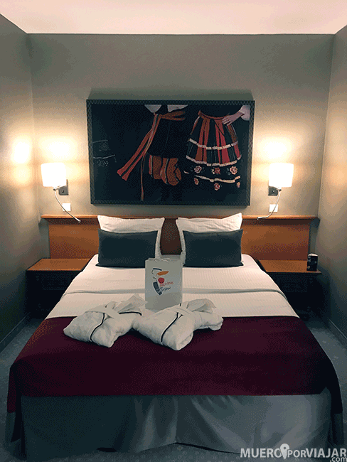 Cama del hotel Leonardo Royal Hotel Warsaw - Varsovia