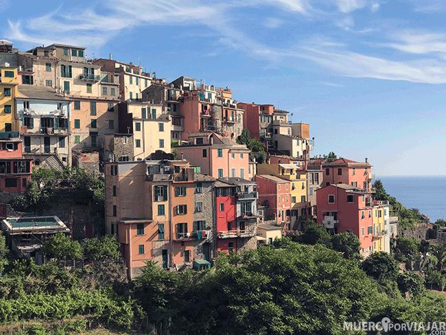Manarola, otro de los preciosos pueblos de Cinque Terre en Italia