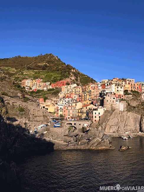 El pueblo de Manarola en Cinque Terre