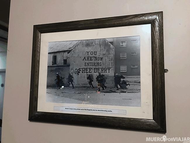 Fotografía del Domingo Sangriento en Derry