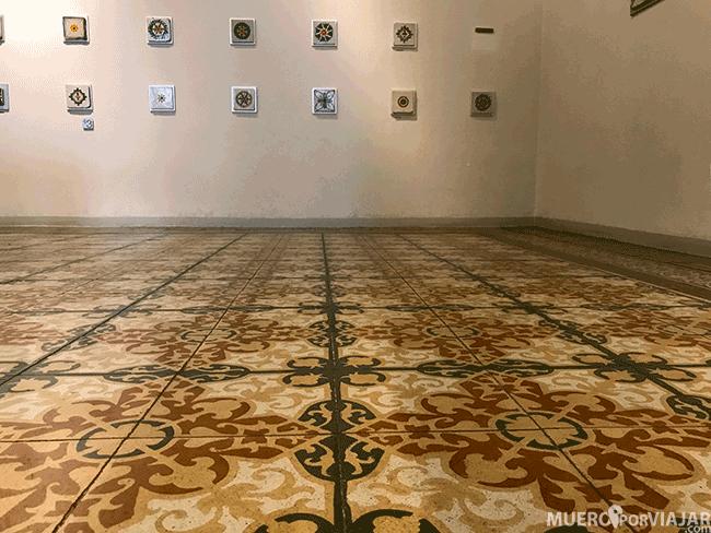 Todo en el museo Can Tinturé está dedicado a la cerámica