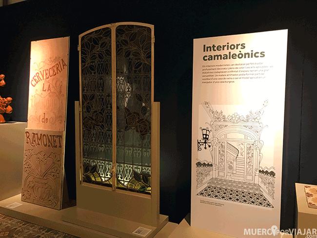 Dentro del museo de Can Tinturé se encuentra una exposición muy interesante de cerámica
