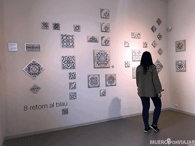 La colección de azulejos del coleccionista Salvador Miquel en Can Tinturé