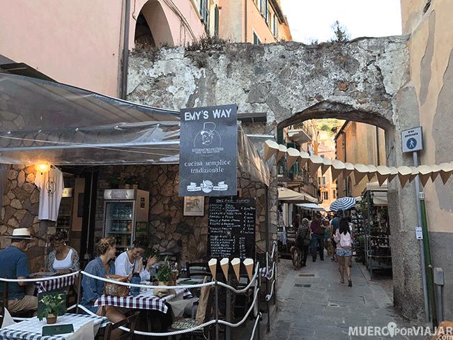 Calles de Monterosso - Cinque Terre