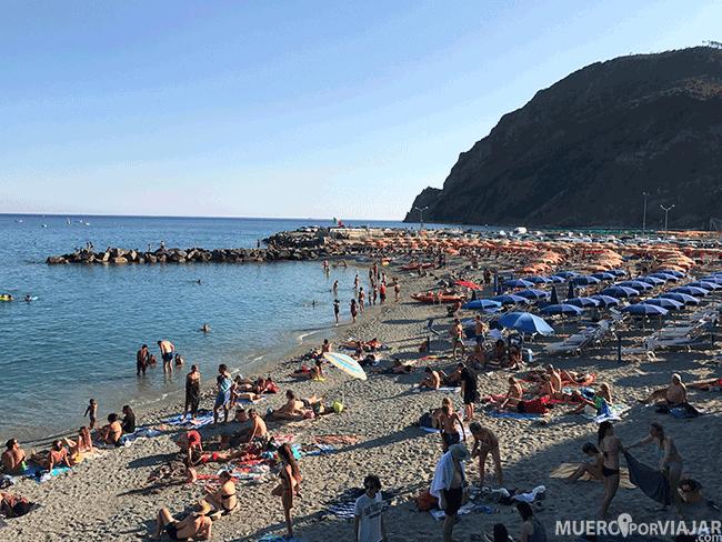 Playa de Monterosso - Cinque Terre