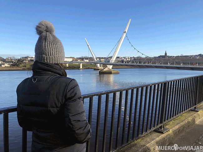Peace Bridge de Derry