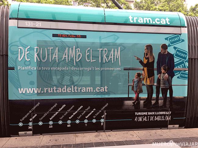 La ruta del modernismo en el Tram de Barcelona