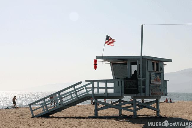 Playa de Santa Mónica - Los Ángeles