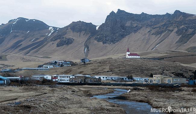 Pueblo de Vík - Islandia