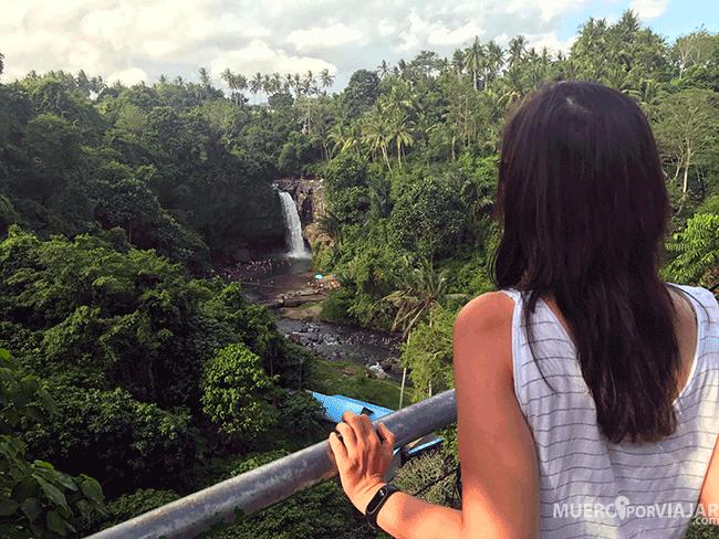 Cascada de Tegenungan en Bali