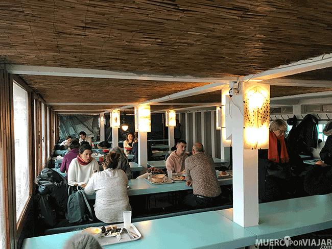 Comedor de Bains des Paquis - Ginebra