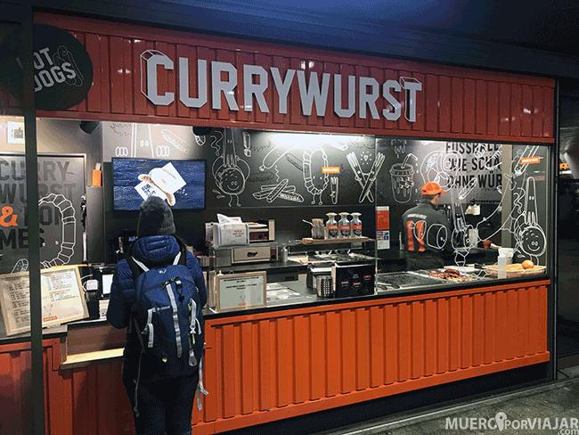 Cadena de Currywurst en Lucerna - Suiza