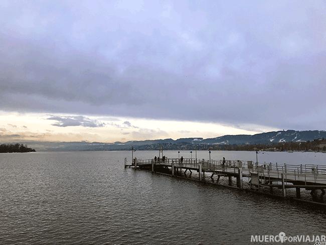El lago Zurich