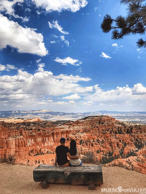Mirador en Bryce Canyon en Utah
