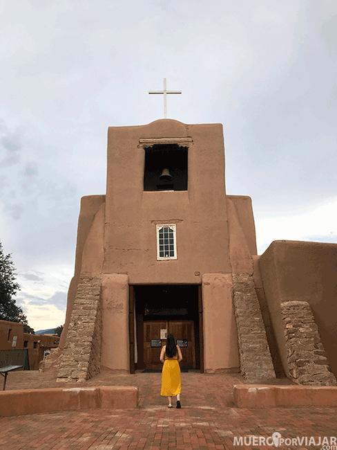 La Misión de San Miguen el Santa Fe, la primera iglesia de Estados Unidos