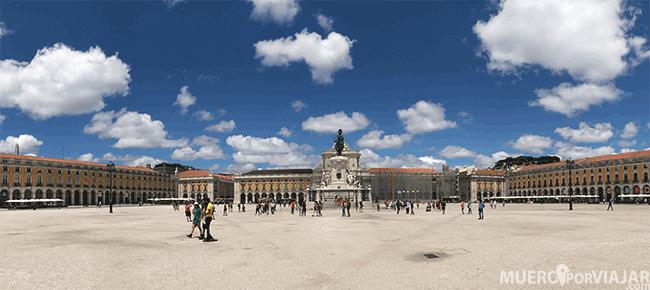 Plaza del Comercio de Lisboa