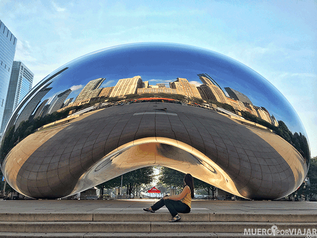 The Cloud Gate en Chicago