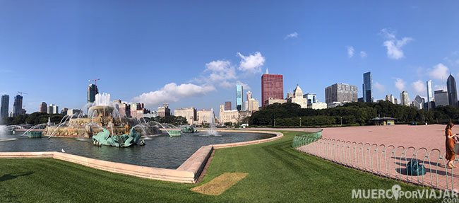 The Clarence Buckingham Memorial Fountain - Chicago
