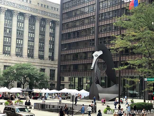 The Chicago Picasso, obra de Pablo Picasso - Chicago