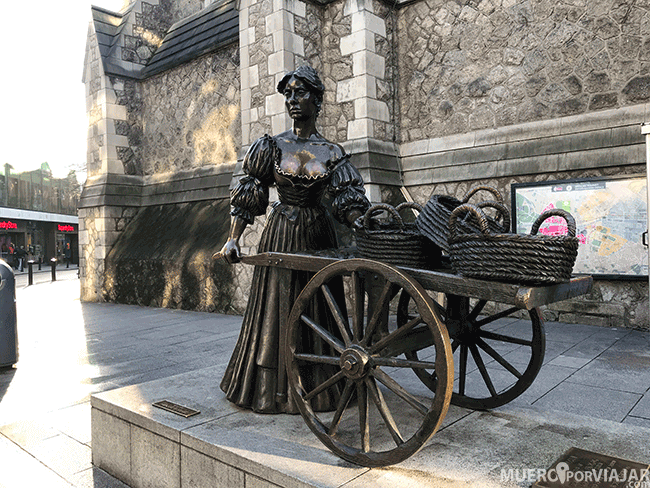 Famosa vendedora ambulante Molly Malone