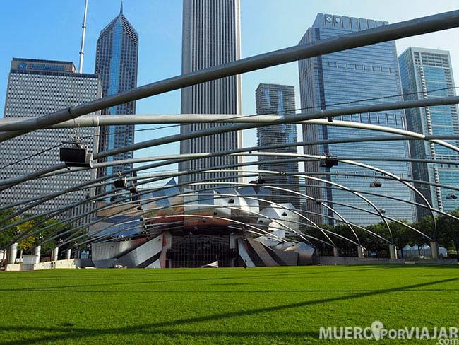 Jay Pritzker Pavilion - Chicago