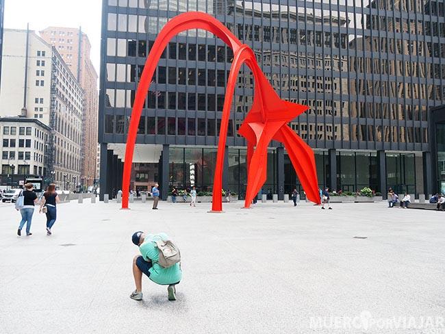 Calder's Flamingo - Chicago