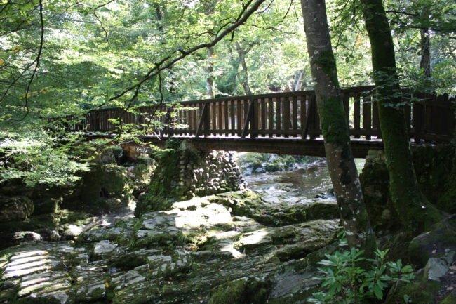 Los ríos y puentes paseando por Glenariff