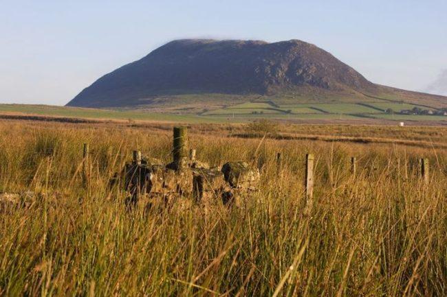 Las praderas de Shillanavogy Valley en Irlanda del norte