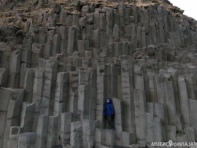 Columnas basalticas en Reynisfjara