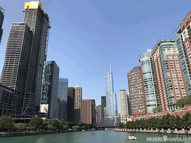 Crucero de arquitectura por el rio Chicago