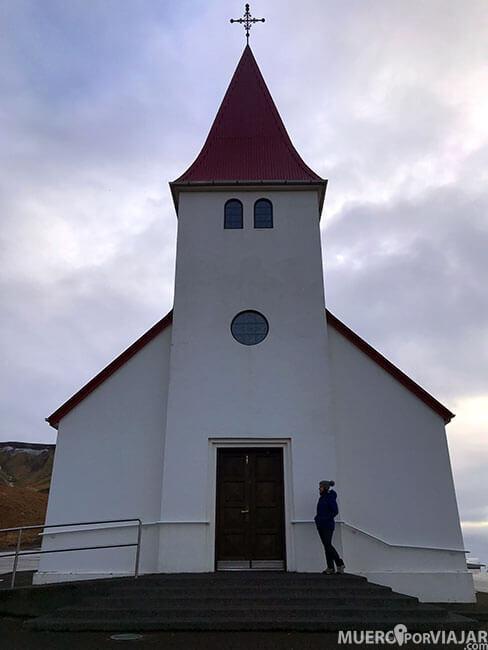 Iglesia de Vík - Islandia