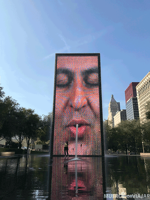 The Crown Fountain en Chicago