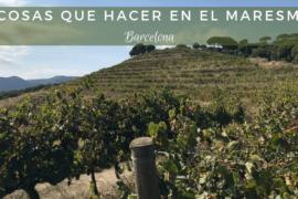 7 cosas que hacer en el Maresme – Barcelona