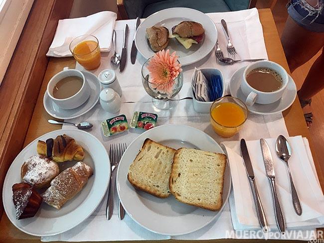 Desayuno hotel Marques De Pombal - Lisboa