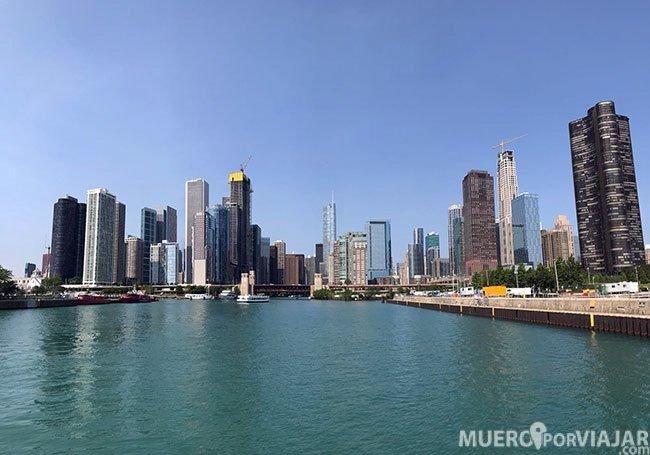 El tour llega hasta el puerto de Chicago