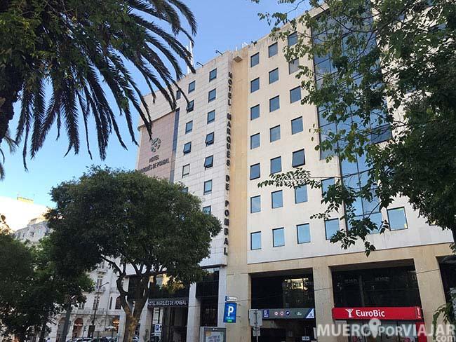 Edificio del hotel Marques De Pombal - Lisboa