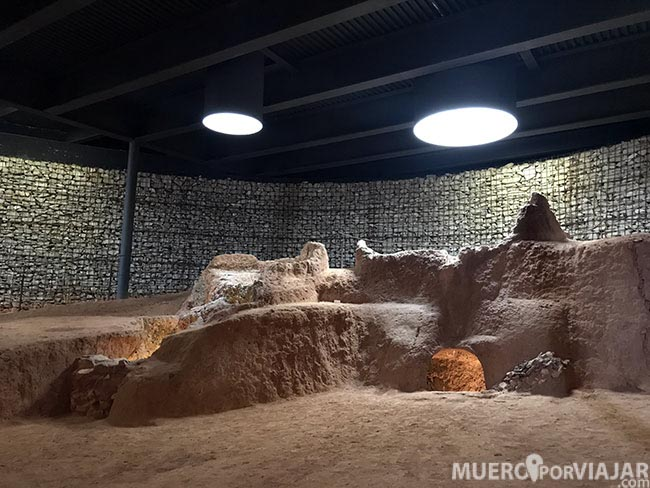 Yacimiento romano de La Fornaca en Vilassar de Dalt