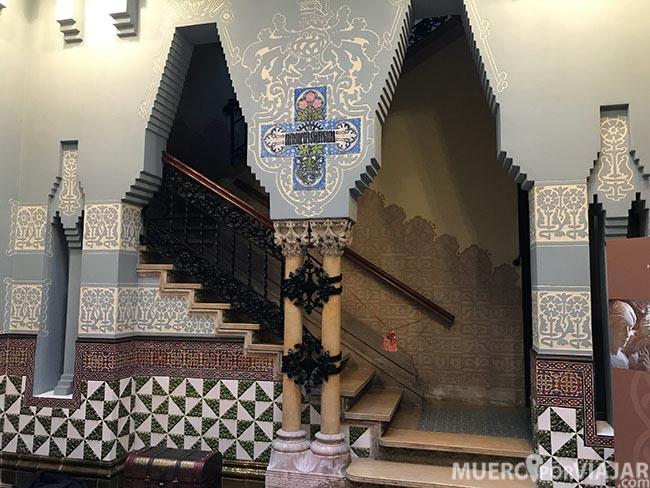 Interior de la Casa Coll i Regàsen Mataró