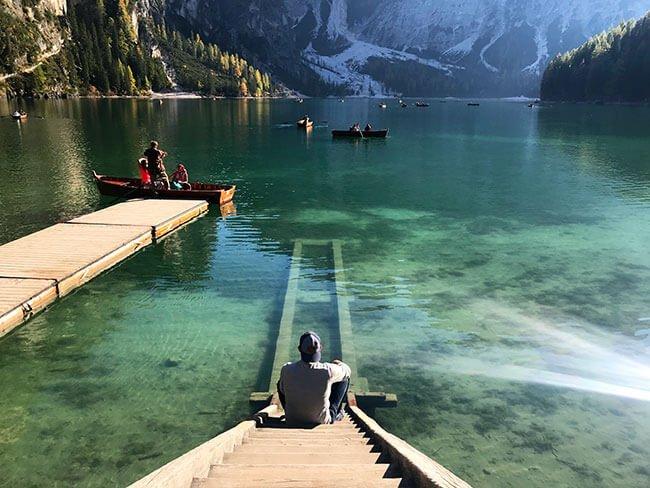Lago di Brais - Los Dolomitas