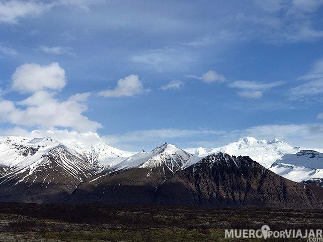 Una muestra de los espectaculares paisajes de Islandia