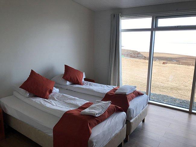 La habitación con unas vistas super chulas