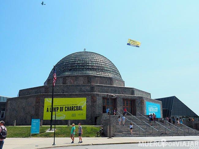 El Adler Planetarium en Chicago