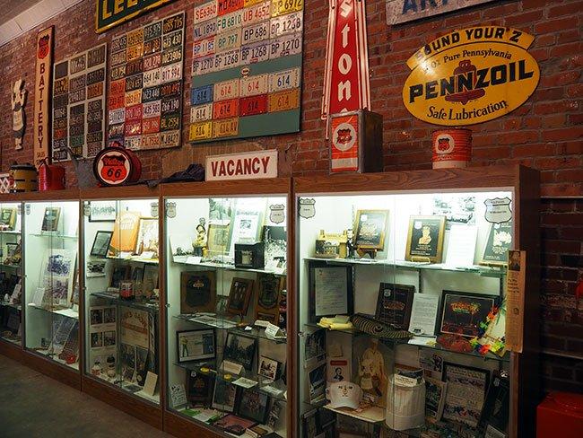 En el Museo de la Ruta 66 en Pontiac encuentras verdaderas joyas de coleccionista