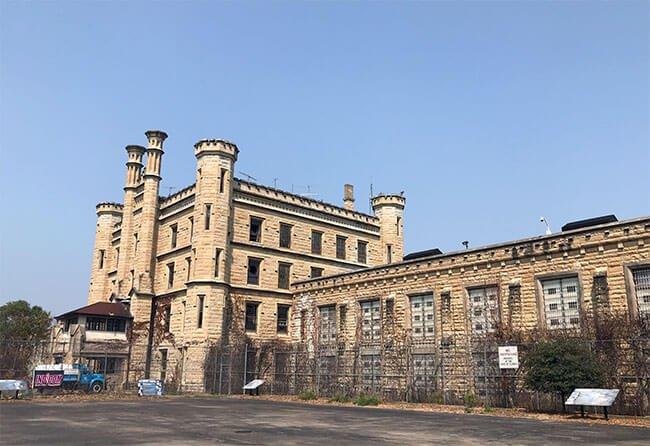 La Old Joliet Prison donde se rodó la serie de televisión Prision Break
