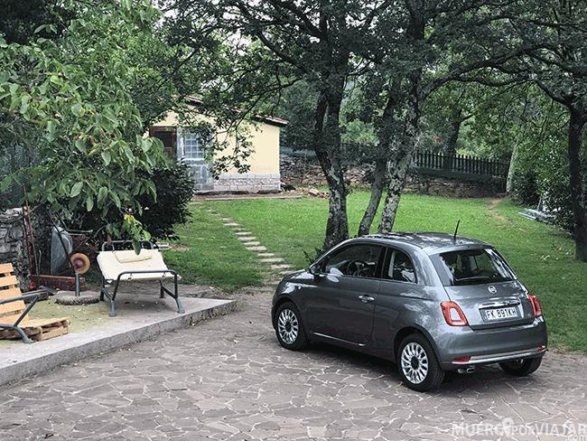 El coche que usamos para nuestro viaje por Eslovenia